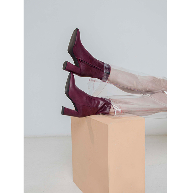 Leather Ankle Boots - Footwear and Accessories U WOMAN  - Adolfo Dominguez Online