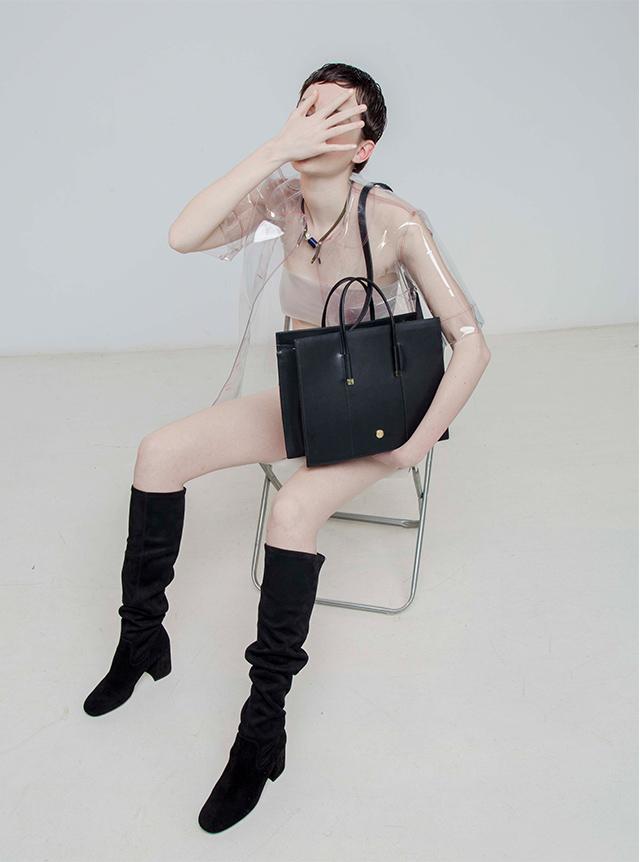 Bolso Shopper Soho de eco-piel - Complementos y Accesorios U WOMAN  - Adolfo Dominguez Online