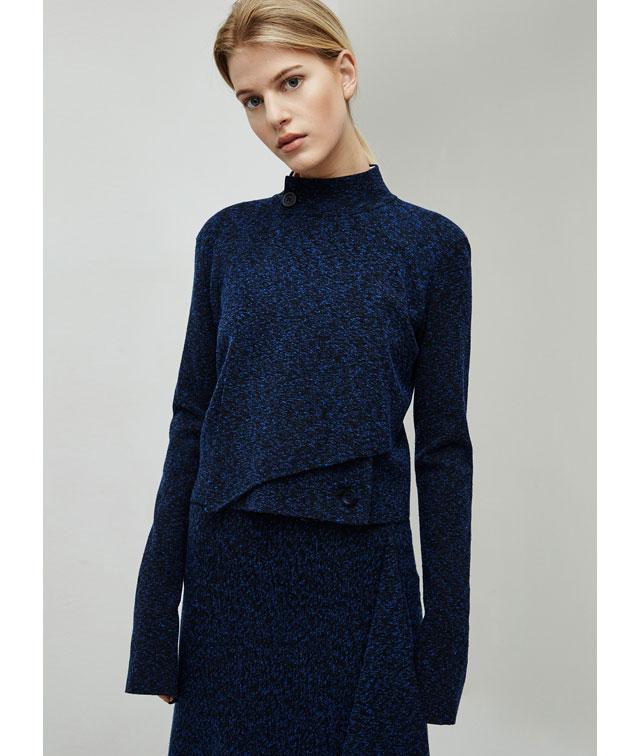 Vestido  de punto - prendas de punto para mujer -  Moda AD mujer - Adolfo Dominguez Online