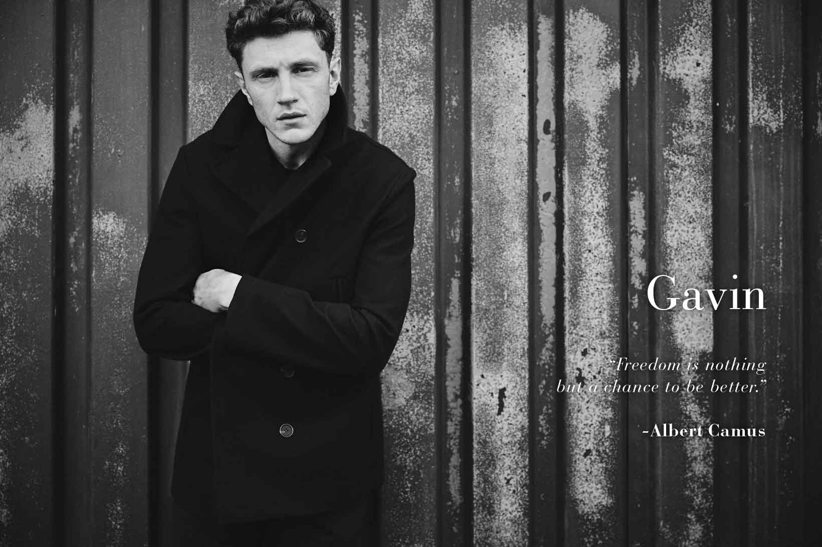 Men's woolen jacket - Outerwear & Coats AD Man  -  Adolfo Dominguez