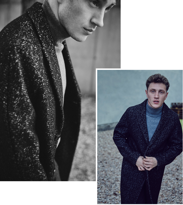 Wool Coat for men -  Outerwear & Coats AD Man - Adolfo Dominguez Online