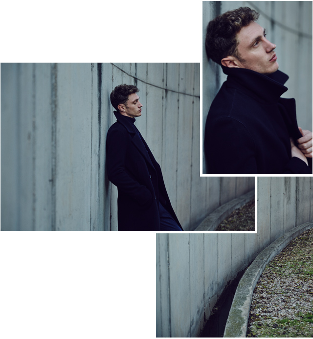 Long coat of cloth -  Outerwear & Coats AD Man - Adolfo Dominguez Online