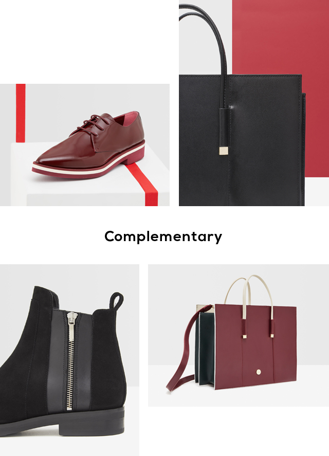 Leather handbags and shoes for women - U Woman  - Adolfo Dominguez Online