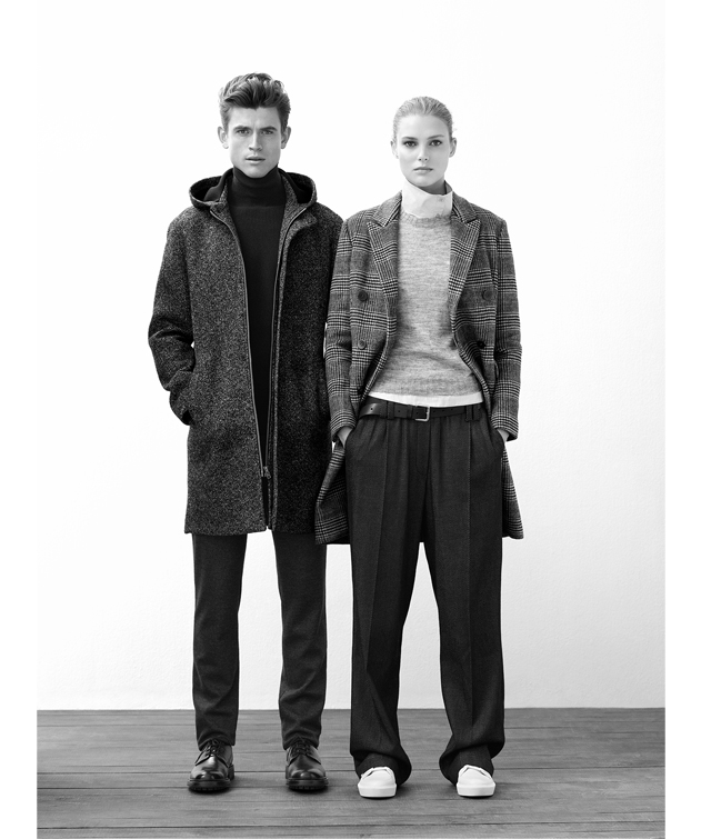 Coats for men and women - Fall Winter Fashion - AD WOMAN Adolfo Dominguez