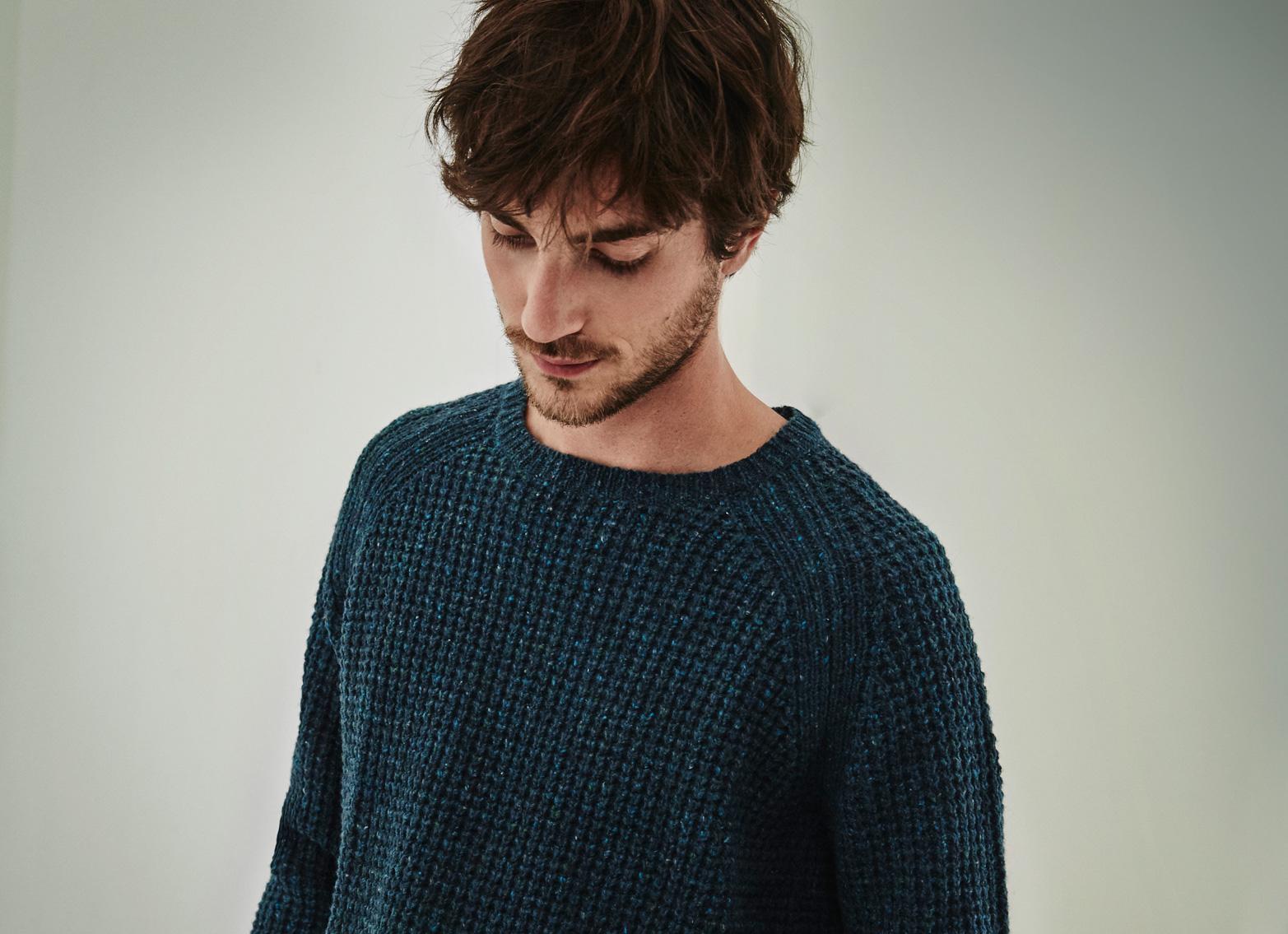 Jersey punto canale  - jerseis para hombre - Prendas de punto AD Hombre  - Adolfo Dominguez Online