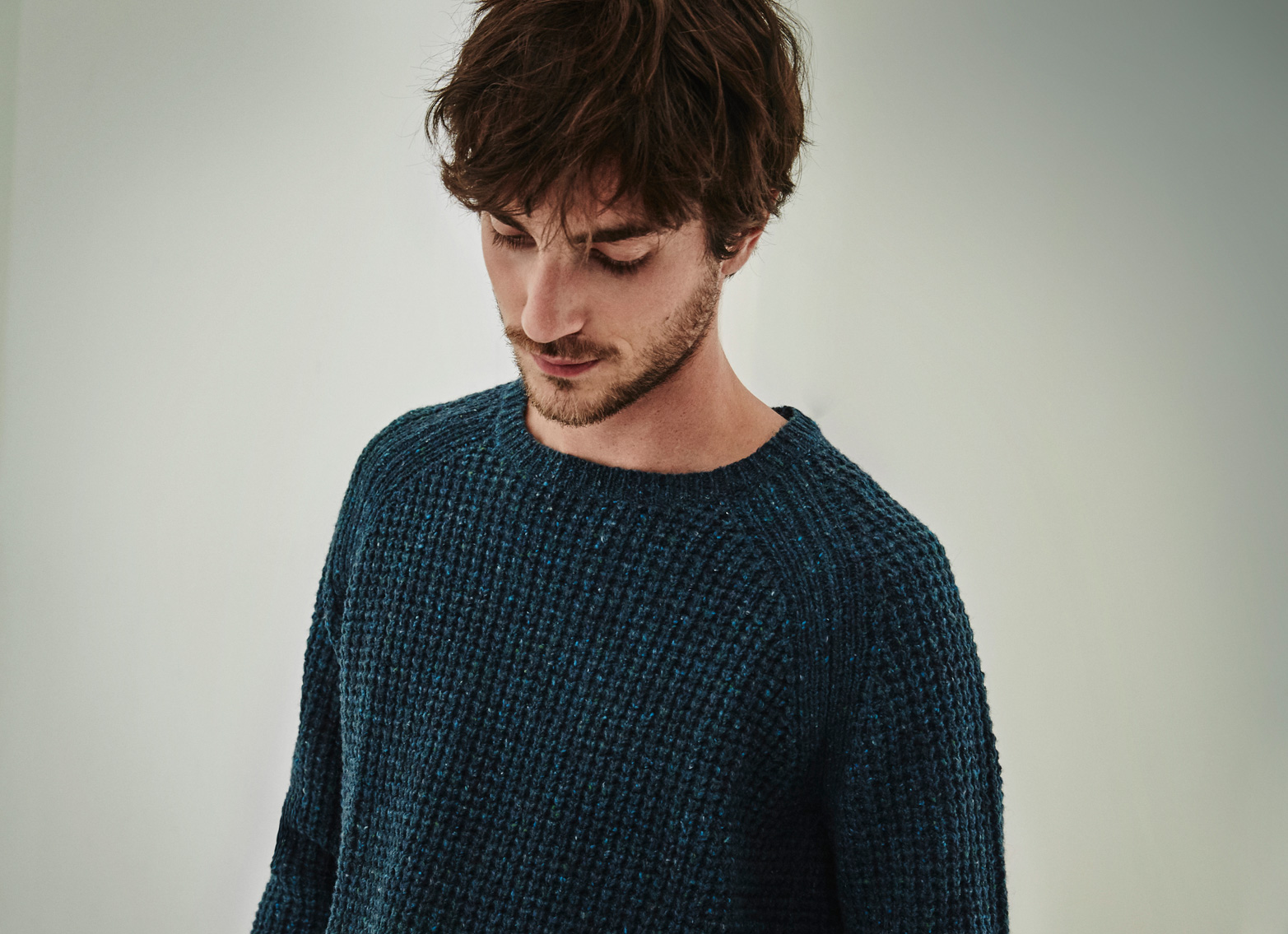Speckled Sweater - Knitwear AD Man  -  Adolfo Dominguez