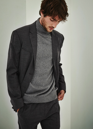 Grey suit - Knitwear AD Man  -  Adolfo Dominguez