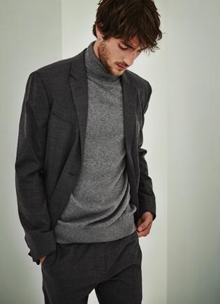 Traje gris de hombre - Prendas de punto AD Hombre  -  Adolfo Dominguez Online