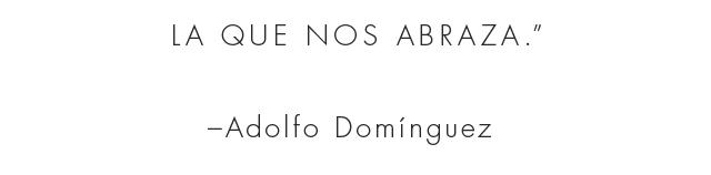 La que nos abraza - Prendas de punto AD Hombre -  Adolfo Dominguez Online