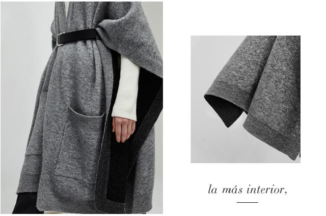 Abrigos y cardingans de punto - gris - Prendas de punto AD Mujer  - Adolfo Dominguez Online