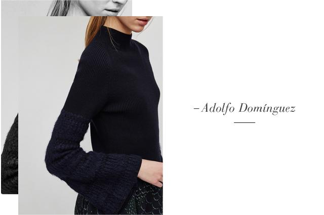 Jersey de punto - con mangas anchas - Prendas de punto AD Mujer  - Adolfo Dominguez Online