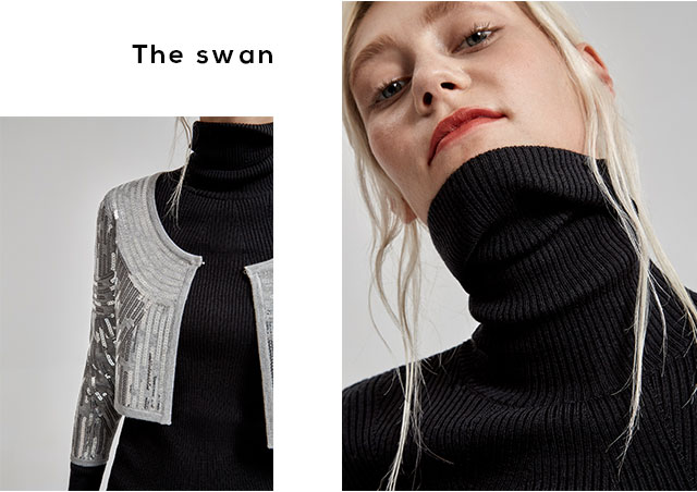Sweaters - with roll neck - Knitwear U Woman  - Adolfo Dominguez Online