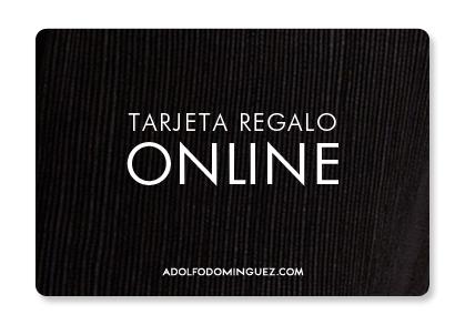 Tarjeta Promo regalo Adolfo Dominguez